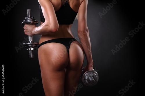 Zdjęcie XXL Piękna kobieta lekkoatletycznego