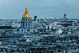 Cyano aerial view of Dome des Invalides, Paris, France - 96576465