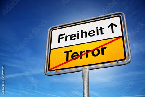 Fotografía  Freiheit / terror