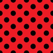 Big Polka Dot Seamless Pattern...