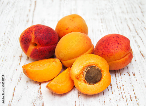 Fresh apricots #96581227