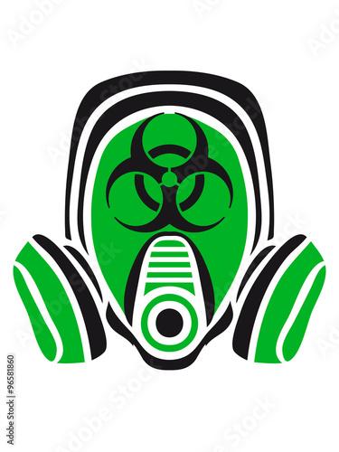 Photo  gas biohazard biological weapon virus viruses bacteria zombie apocalypse war sym