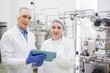 Scientists using tablet to control vats