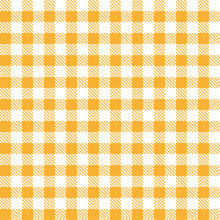 Orange Table Cloth Squares Sty...