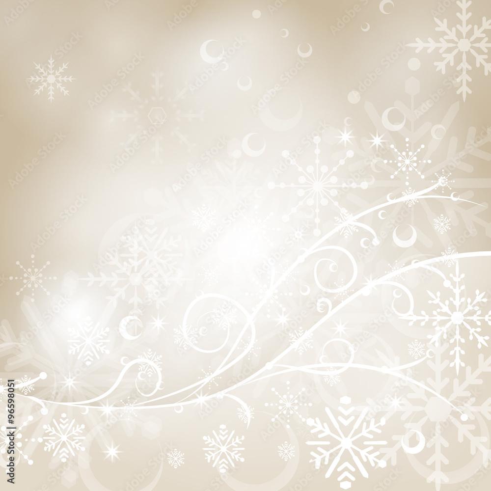 Foto-Leinwand ohne Rahmen - Weihnachtlicher Hintergrund
