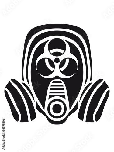Photo  biohazard biological weapon gas viral virus bacteria zombie apocalypse war symbo