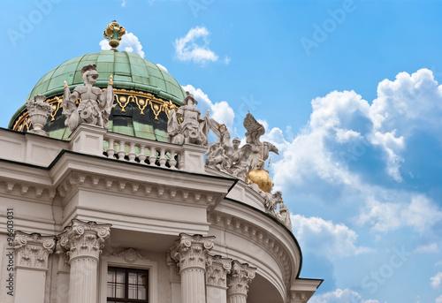 Fényképezés  Hofburg palace, Vienna, Austria