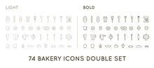 Set Of Vector Bakery Pastry El...