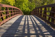 Park Bridge In Autumn