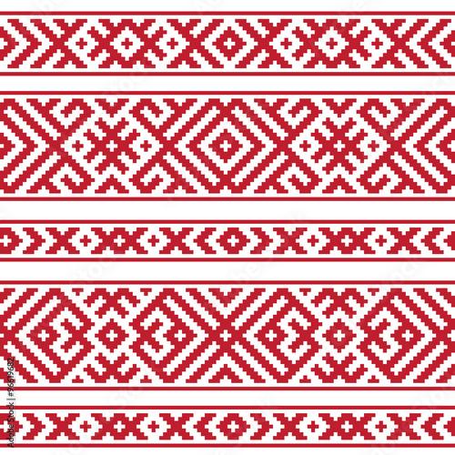 czerwony-i-bialy-geometryczny-ludowy-rosyjski-bezszwowy-wzor