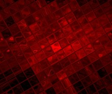 Abstract Image Of A Red And Black Squares Covered