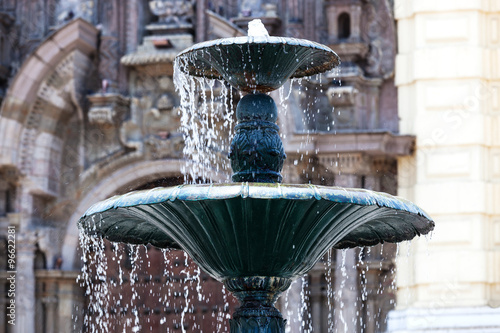 Photo sur Toile Fontaine beautiful fountain