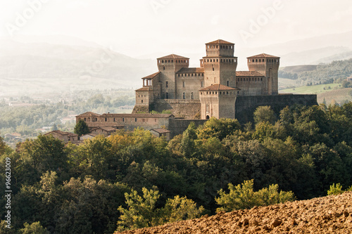 Castello di Torrechiara, Langhirano Fotobehang