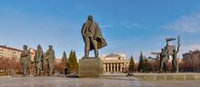 The Central Square Of Novosibi...