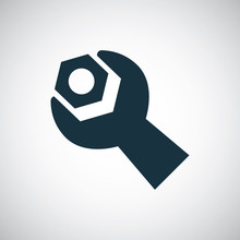 Wrench Screw-bolt Icon