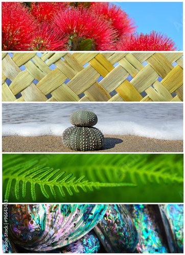 Papiers peints Nouvelle Zélande Iconic New Zealand Nature Background Photos