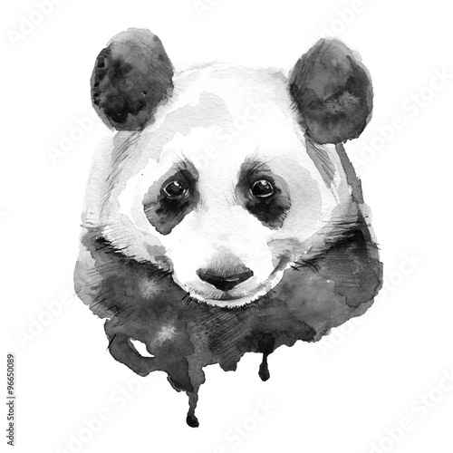 panda-black-and-white-odosobniony