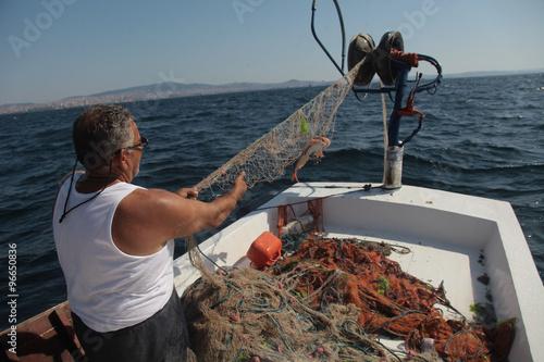 Plakat  balıkcı