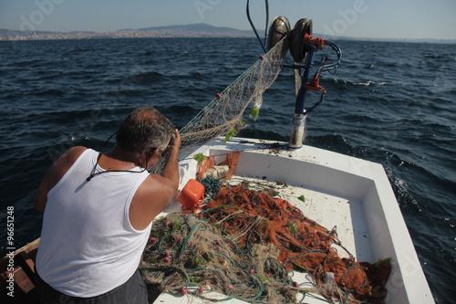 balıkçı Canvas Print