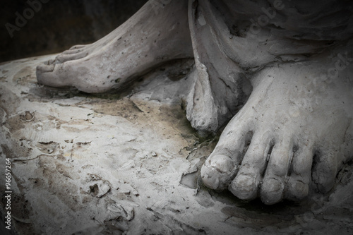 Valokuva The feet of Christ