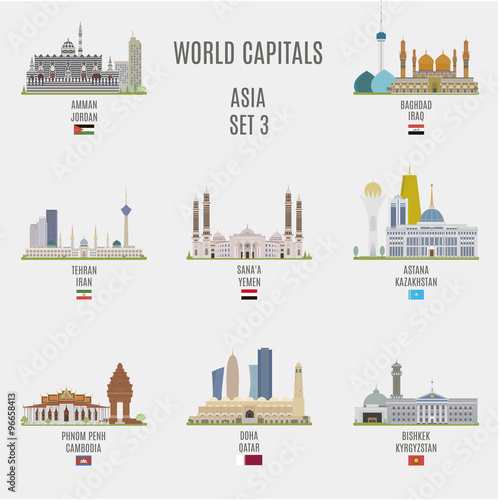 Photo  World capitals