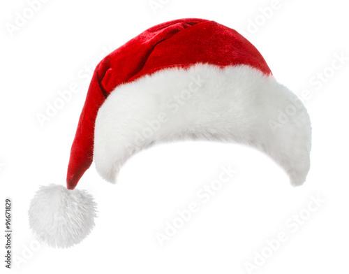 santa hat isolated on white background