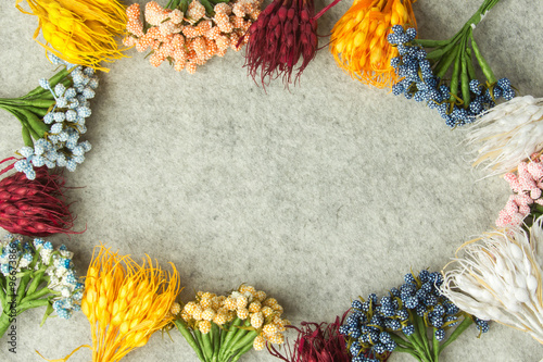 Carta da parati Flowers background