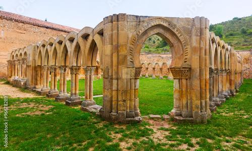 cloister of Monastery of San Juan de Duero