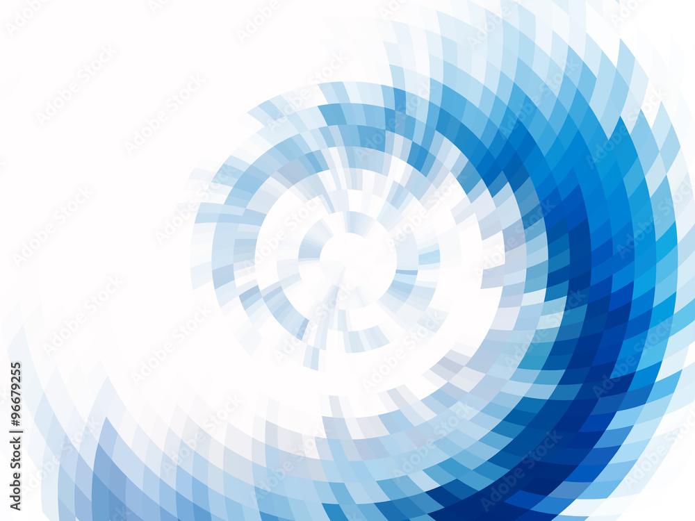 Fototapety, obrazy: vector vortex effect