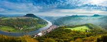 View From Viewpoint Of Bastei ...