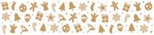 Christmas Pattern Decoration Elements Background