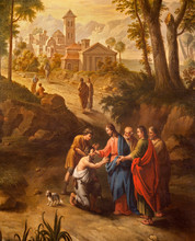 Ghent - Christ Healing The Bli...