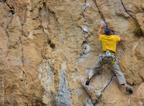 Fotografiet  Climber.