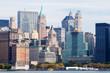 Hochhäuser in Lower Manhattan, NYC