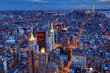 Manhattan Skyline bei Nacht 1
