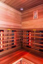 Wooden Infrared Sauna Interior
