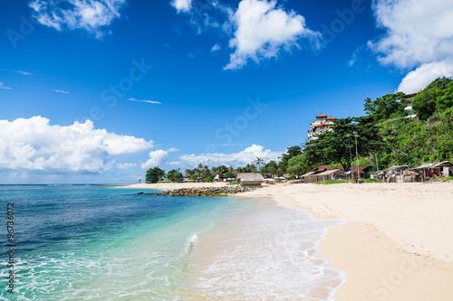 Foto op Aluminium Bali Tropical beach with white sand in Bali