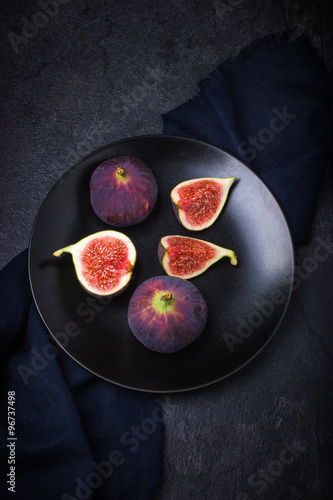 Fotografie, Obraz  fresh fig