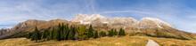 View To The Montasio Massif