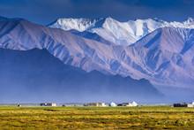Stone Fort In Tashkurgan, Tashkurgan Is A Town In The Far West Of Xinjiang Province In China