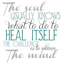 The Soul Knows Phrase