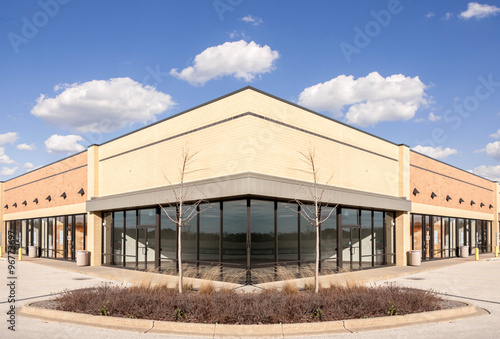 Fotografie, Obraz  New Commercial, Retail and Office building Space available for sale or lease in