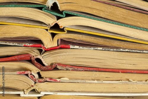 Fotografia, Obraz  Old hardback books