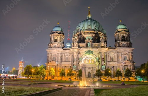 Berlin Cathedral, Berliner Dom, Germany Poster