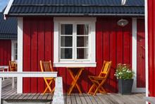 Wooden House At The Lofoten Ar...