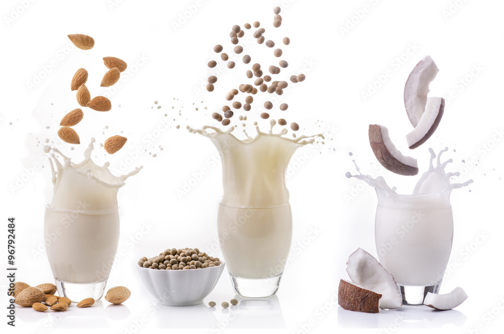 Fototapety, obrazy: latte vegetale alternativo