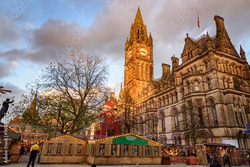 Photo  Manchester christmas market