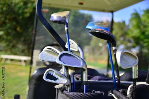 Deurstickers Golf Golf course