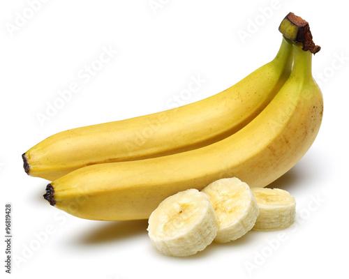 Fotografie, Tablou  Banana with sliced banana