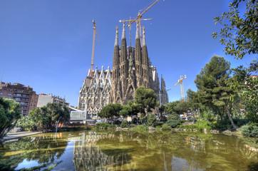 Fototapeta Barcelona La Sagrada Familia Cathedral, Barcelona
